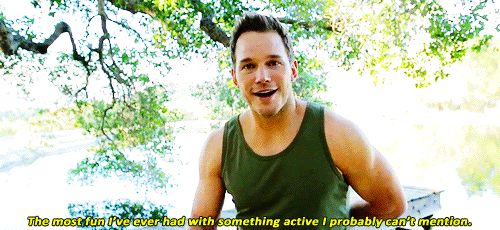 Well, most of the time. | 28 Reasons Chris Pratt Is The Adorable Goofball Of Your Dreams