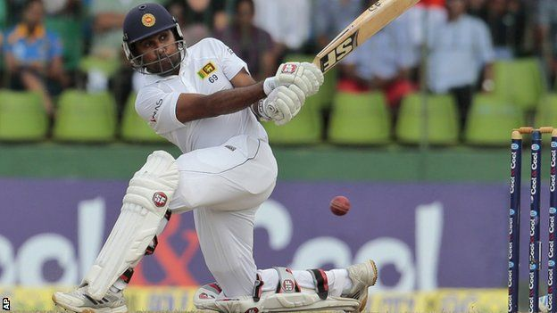 Sri Lanka batsman Mahela Jayawardene in action against Pakistan, scores 54 in last test