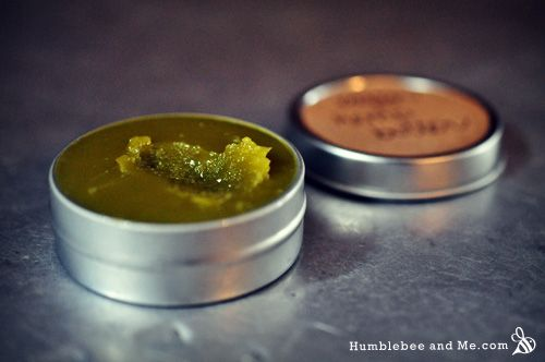 Hemp body butter (vegan) | Humblebee and Me.