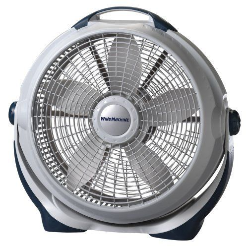"White Fan 3300 20"" Wind Machine 3 Speed Cooling Portable Fans Heating Air Home #WindMachine"