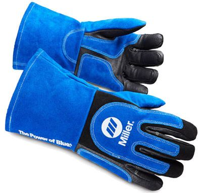 Miller Welding Gloves - Heavy Duty MIG/Stick 263339