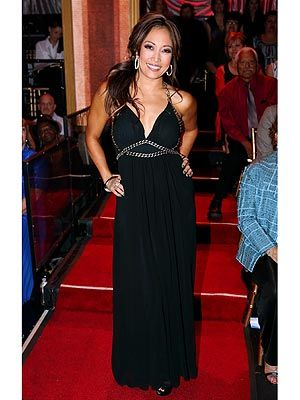 Nice black dress  Carrie Ann Inaba