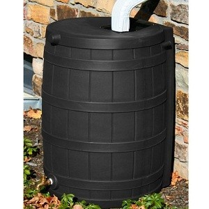 50 gallon rain barrel: Free Ships, Water Plants, Wizards 50, Rain Wizards, Rain Barrels, Good Idea, Gallon Rain, 50 Gallon, 50Gallon