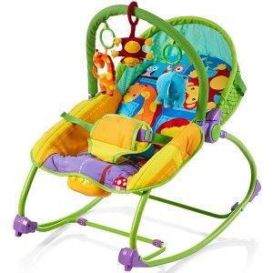 Balansoar bebelusi Chipolino Relax jungle