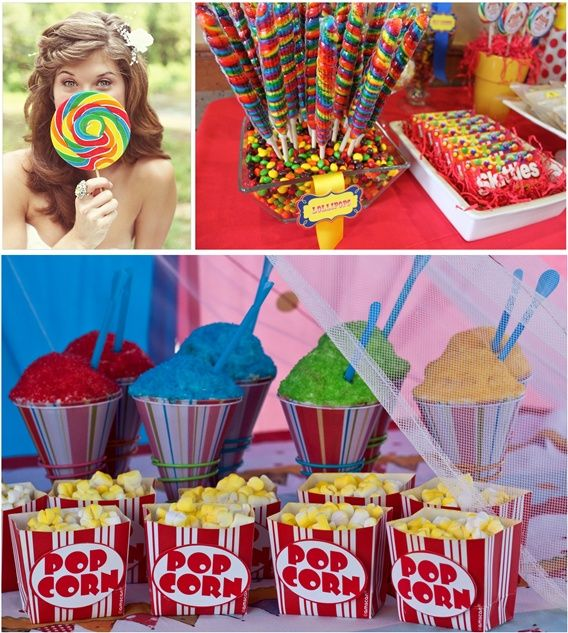 Carnival party food birthday carnival pinterest - Carnival party menu ...