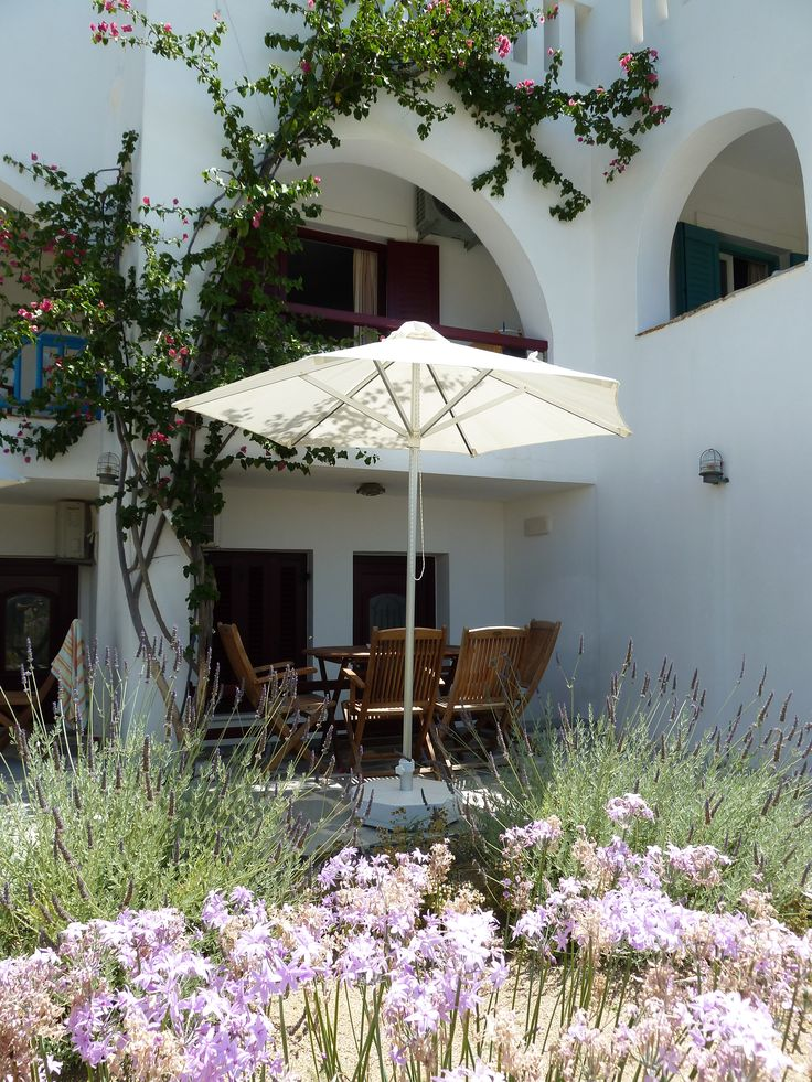 Terrance of Apartement, Villa Naxia, Naxos, Greece