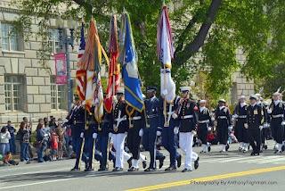 My Photo Recap From The 100 Anniversary Cherry Blossom Parade in Washington D.C