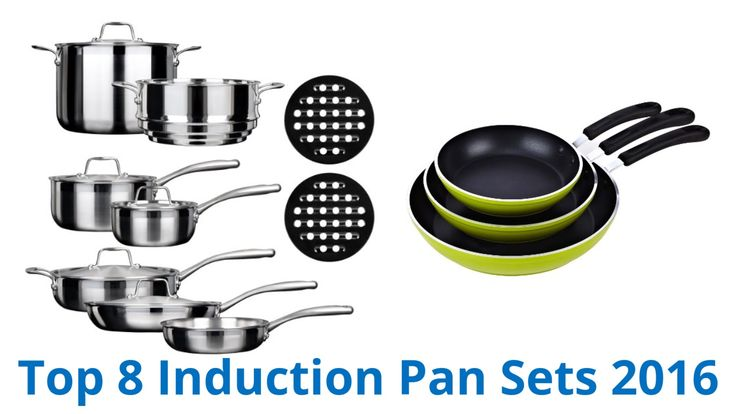 CLICK FOR WIKI ►► https://wiki.ezvid.com/best-induction-pan-sets?id=ytdesc Induction Pan Sets Reviewed In This Wiki: Duxtop Whole-Clad Tri-Ply Gourmet Chef I...