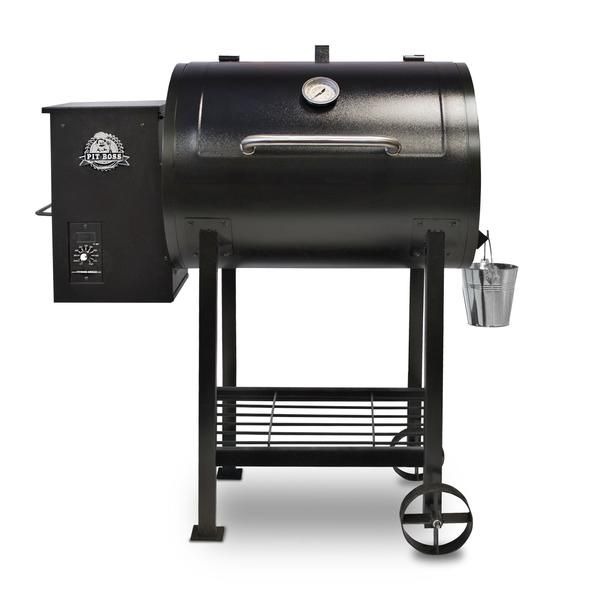 The Pit Boss 700FB Pellet Grill and Smoker The Pit Boss Pellet Grill 700FB will cook your favorite recipe to perfection, you just have to decide how you want it. Grill, smoke, bake, roast, or sear you