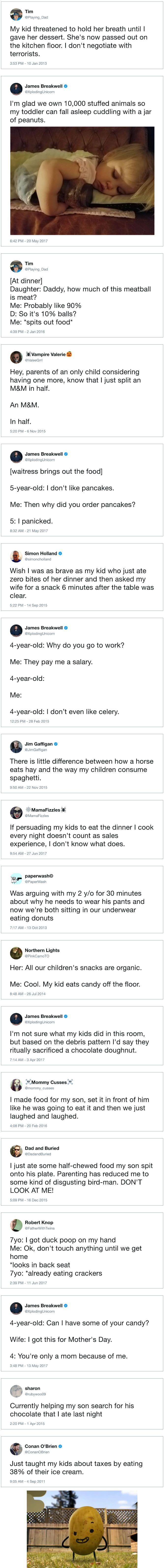 Parents vs. Mealtime