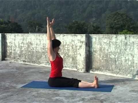 Хатха Йога для начинающих. Самые первые позы. - YouTube