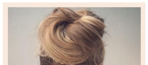 DIY Hairstyles, Loose Top Bun