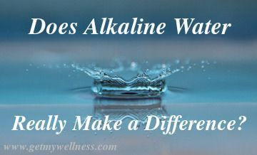 Can you tell the difference between alkaline water and purified water? I used to drink water purified by reverse osmosis. You can taste the difference.