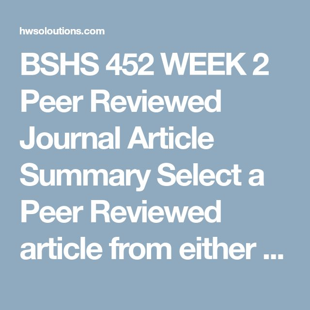 bshs 452 week 2 dqs This product hasn't received any reviews yet be the first to review this product.