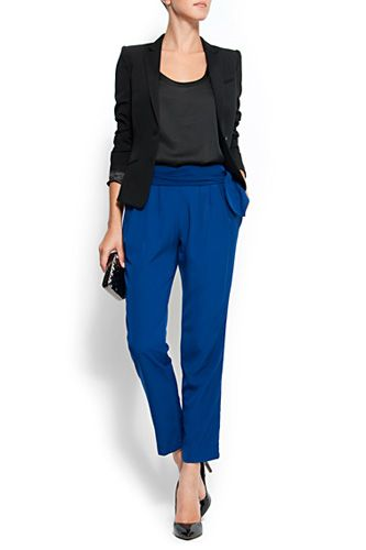 My idea of the perfect work ensemble, comfortable yet polished and professional.
