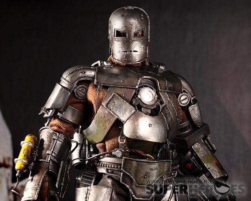 Фотография Коллекционная фигурка Железный человек Железный человек марк 1 (версия 2.0) (5496-1)