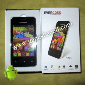 EVERCOSS A5K, SMARTPHONE ANDROID TERMURAH