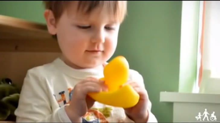 Bringing the early signs of ASD to life: the video has been developed to help both parents and health professionals.