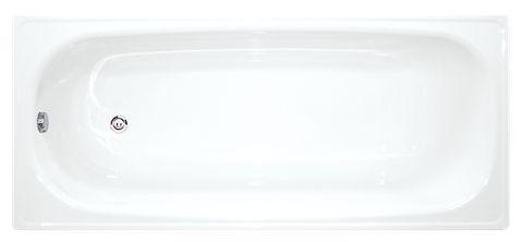 Obdélníková vana Jika Melfi 170x70 cm, smaltovaná ocel 2,1 mm