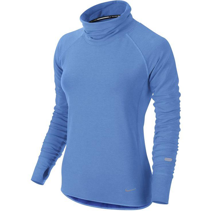 Wiggle Nederland | Nike Women's DF Feather Fleece Pullover - FA14 Hardloopshirts met lange mouwen € 56,71