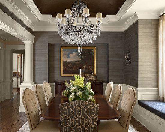 Dining room grass cloth wallpaper 2017 grasscloth wallpaper for Best wallpapers for dining rooms