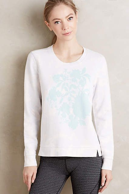 Anthropologie EU Pure + Good Floralie Jumper.