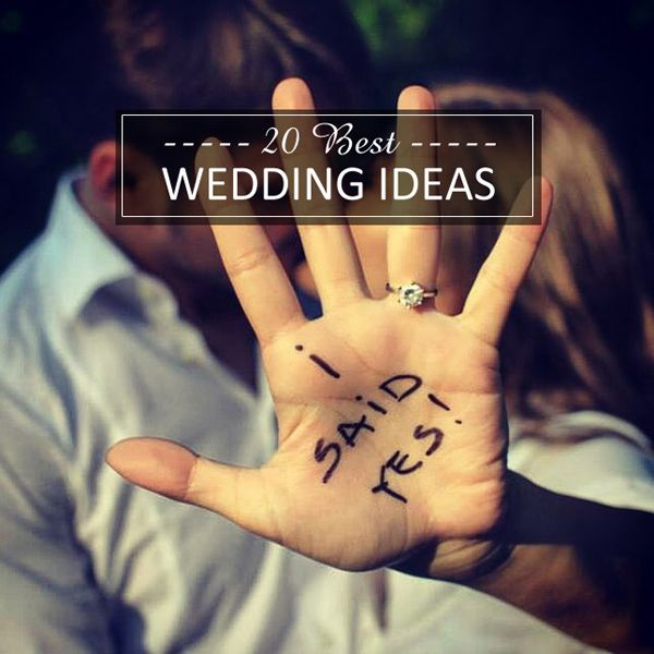 top 20 best wedding ideas for 2015 trends