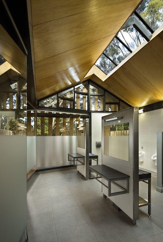 WAITANGI TOILET BLOCK HARRIS BUTT ARCHITECTURE   Archipro. 17 best ideas about Toilet Design on Pinterest   Toilets  Lighting