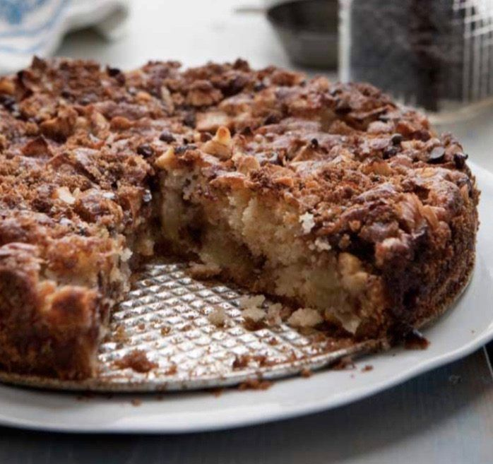 Penny's Gluten-Free Apple–Brown Sugar Coffee Cake