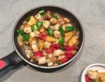 닭가슴살볼 파인애플 볶음[ 저칼로리 요리, 다이어트 ...