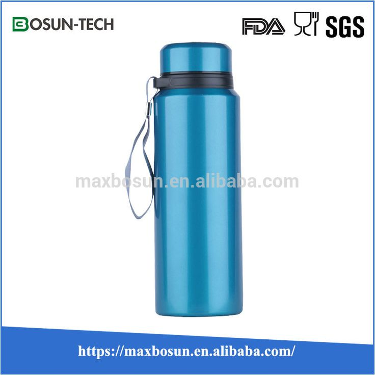 Hydro Flask Insulated Vacuum Stainless Steel Wide Mouth Drinking Bottle, Various Lids Available