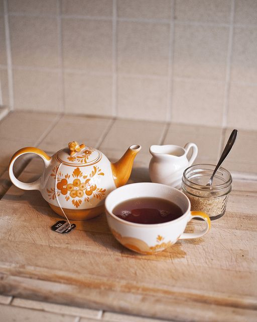 morning tea by kooop, via Flickr