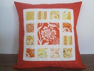 Cute quilted pillows: Pillows Pillows, Good Ideas, Rebel Homemaking, Quilts Pillows, Central Parks, Kate Spain, Great Ideas, Pillows Crazy, Parks Pillows