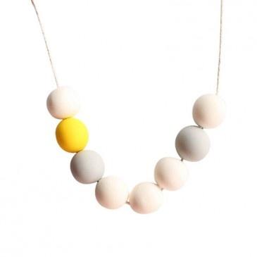Snow Bubble Necklace