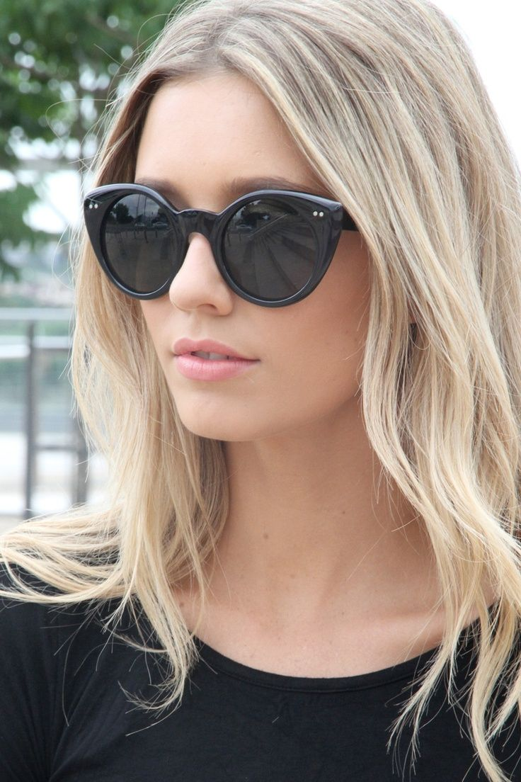 sunglasses & hair. This look has been part of my summer look inspiration                                                                                                                                                      More