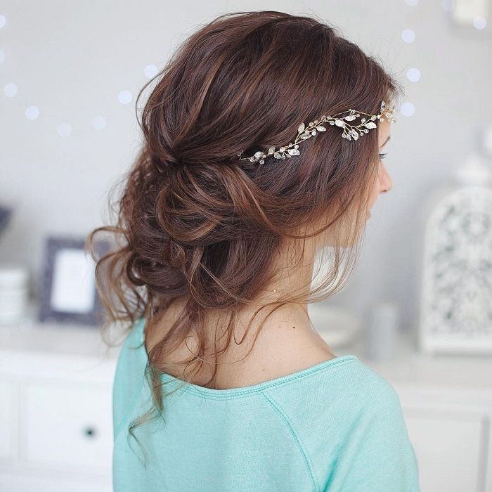 25 best ideas about messy wedding hair on pinterest