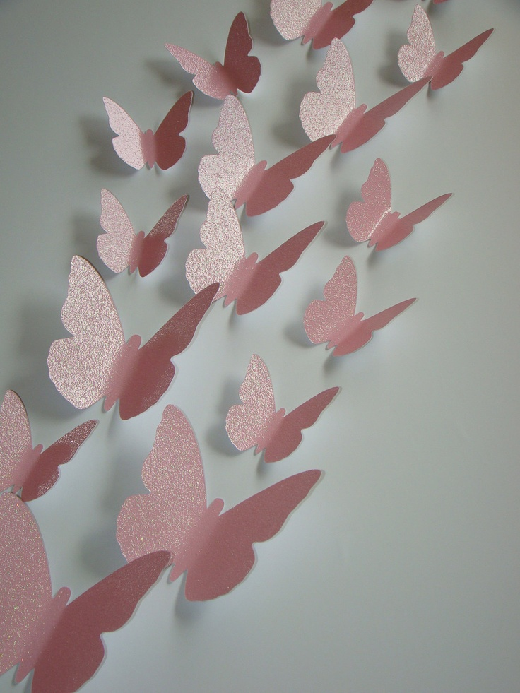 3-D wall art you can customize... cute for a nursery and Half of Proceeds go to Susan G Komen by magicalwhimsy