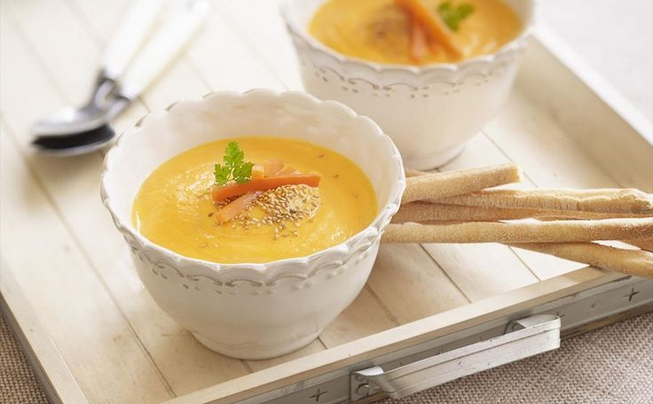 """""""Crema De Zanahorias Especiada"""" en Nestlé Cocina #recetas #nestlecocina #menuplanner #cocina"""