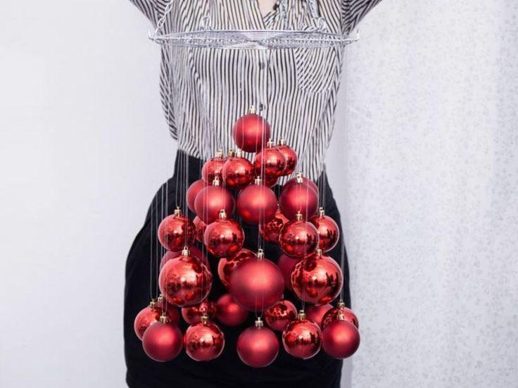 DIY-Anleitung: Schwebenden Weihnachtsbaum basteln via DaWanda.com