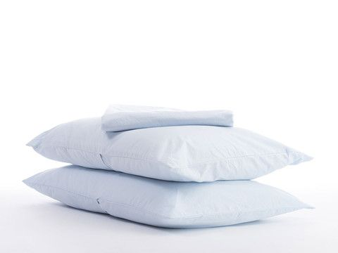 $ 150 king sheet set. designed in LA. made in Italy. eco & socially conscience. Percale Sheet Set by Parachute Home