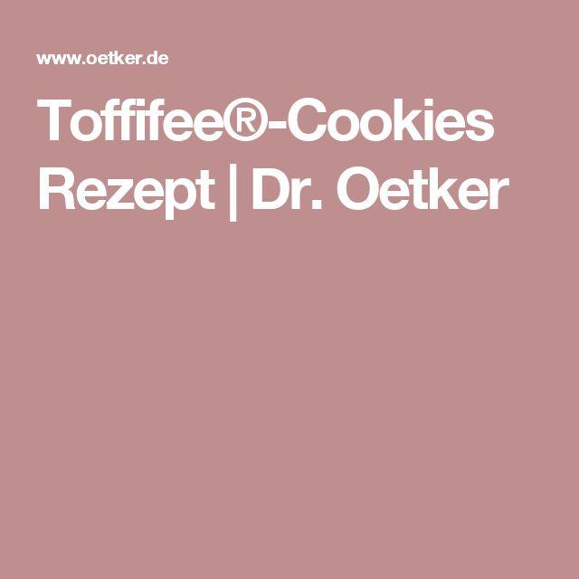 Toffifee®-Cookies  Rezept | Dr. Oetker