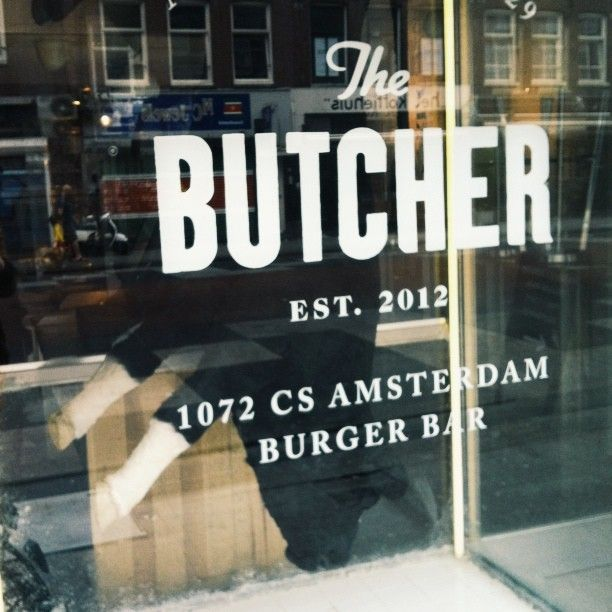 The Butcher i Amsterdam #burgers