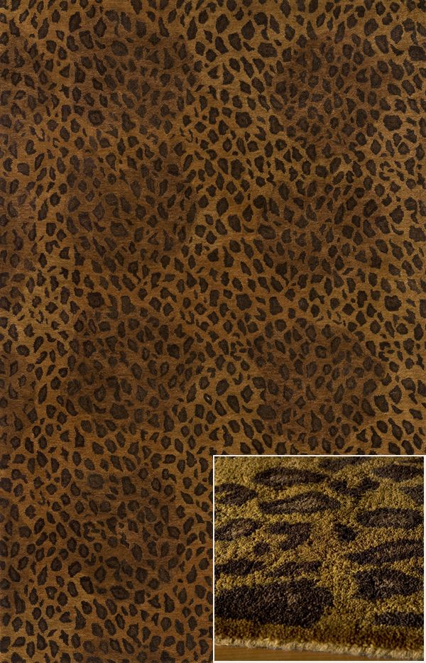 The Serengeti Collection is an elegant collection of hand-tufted rugs that resemble the beautiful animal prints found in the African outback. Gorgeous giraffe, tiger and zebra prints in distinctive color combinations make this group of rugs irresistible. Hand-tufted of 100% wool.