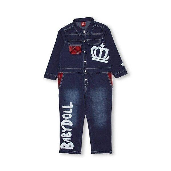 efaa9cac30fbf  楽天市場 デニムつなぎ 0983K パンツ サロペット/ベビードール(BABYDOLL):
