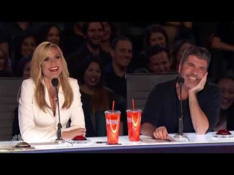 America's Got Talent 2016 S11E02 | DJ Demers The, Deaf Stand Up Comic - YouTube