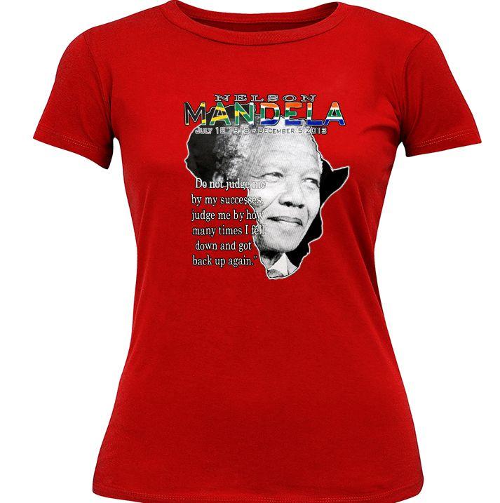 Nelson Mandela Girl's T-Shirt