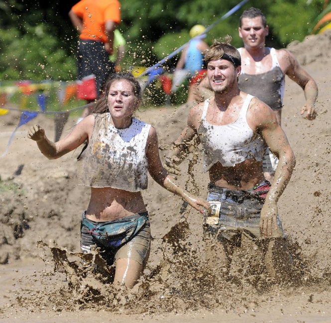 10.) compete in a mud run :)