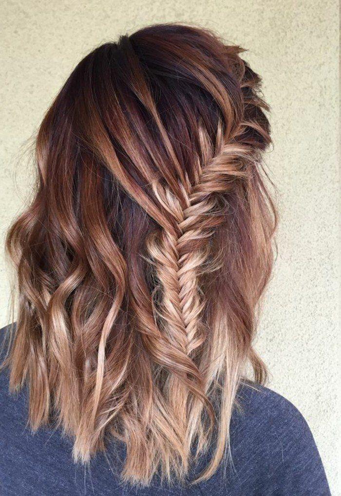 Choisir sa couleur miel cheveux balayage cheveux