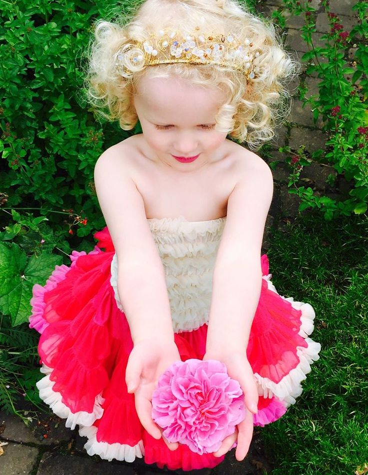 Tutu Goals! This pretty flower is the perfect accessory for Blooming Lovely