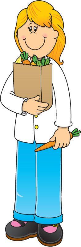 prodavačka zeleniny